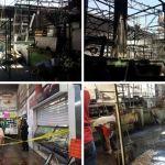 A una semana del incendio… Mercado Miguel Hidalgo en imágenes