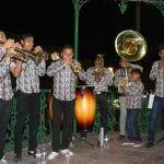 Banda de viento de Yóstiro, un orgullo para Pueblo Nuevo