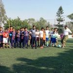 Inicia liga de futbol infantil