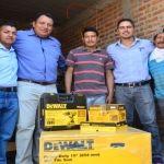 Entregan apoyos a emprendedores de Cuerámaro