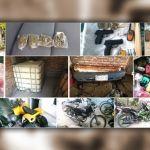 Vehículos robados, hidrocarburos, drogas y armas son asegurados durante cateos en Celaya e Irapuato