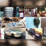 En Irapuato, Celaya y Juventino Rosas, catean viviendas para incautar hidrocarburo, drogas, vehículos y mercancía robada al tren