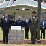 Colocan primera piedra de Brigada Militar en Irapuato