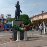 Desfilan por el 264 aniversario del natalicio de Miguel Hidalgo