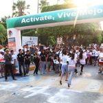 Más de cien participantes en 4ª carrera vida y salud