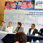 DIF Estatal Firma Convenio de Colaboración con 61 Organizaciones de la Sociedad Civil