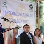 61 empresas ofertan más de 2 mil empleos en la primera feria CONALEP 2017