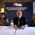 Presenta IMCAR cartelera de la edición 25 del festival Eraitzicutzio