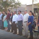 Celebran acto cívico en la primaria de la comunidad Pedregal de Arriba