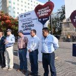 En el programa ¡Irapuato te quiero limpio! El alcalde Ricardo Ortiz pone en marcha campaña de limpieza de plazas