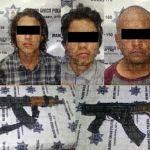 Capturan en Cuerámaro a cinco personas; les aseguran armas de grueso calibre