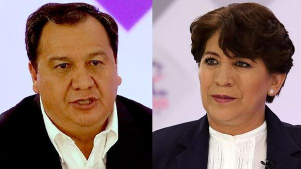 Delfina Gómez da bienvenida a declinación de Óscar González