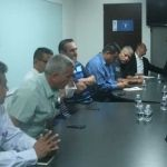 Se reúnen directivos de Club Irapuato A.C., Desarrolladora de Futbol México y porras de la Trinca