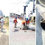 Realizan trabajos de limpieza de drenaje en 6 comunidades de Cuerámaro