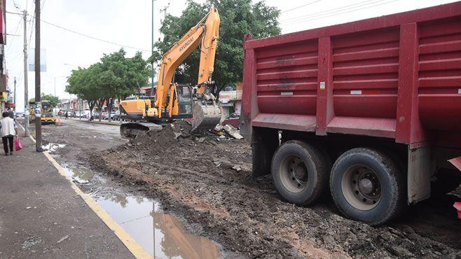 Photo of Inicia retiro de carpeta asfáltica en dos tramos de obra del tercer cinturón vial