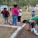 Comienza limpieza de Parque Miguel Hidalgo