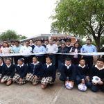 Entregan nuevas aulas a Telescundaria en Laguna Larga