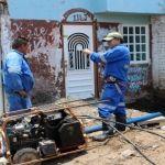 Atienden dependencias reportes por lluvias