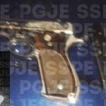 Aseguran en Celaya un hombre en posesión de una pistola calibre 9 mm y 11 cartuchos útiles