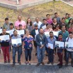 Finalizan cursos del Programa Habitat