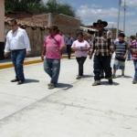 Entregan obras públicas en Huanímaro