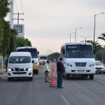 Implementan operativo a transporte público y de personal