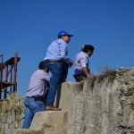 Supervisa Moy Cortéz puntos de riesgo en comunidades de Cuerámaro