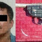 Capturan en Irapuato a una persona del sexo masculino en posesión de un arma de fuego