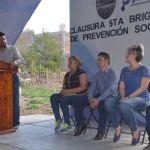 Jessica Cabal clausura brigadas de prevención social
