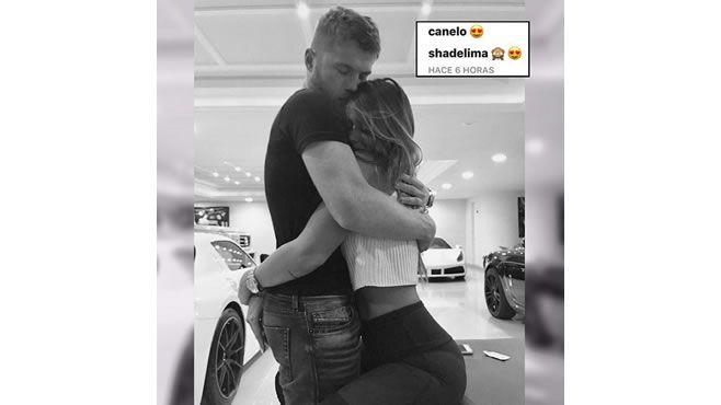 """Photo of Foto de """"Canelo"""" Álvarez y ex de Marc Anthony que confirma su romance"""