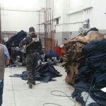 Catean casa en Irapuato y encuentran 4 mil prendas piratas