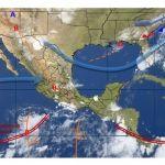 Se mantiene de forma ligera la probabilidad de lluvias en gran parte de la entidad