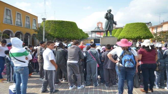 Photo of Primaria Emiliano Zapata visita centro histórico de Abasolo