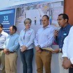 Diego Sinhué y Samuel Amezola entregan obras en estación Joaquín