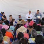 Anuncia alcalde construcción de Drenaje Sanitario para la comunidad La Troja