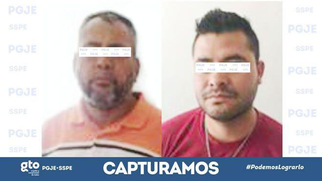 Photo of PGJE y SSPE capturan a dos homicidas, en Apaseo el Alto al interior de una cenaduría mataron a tres personas