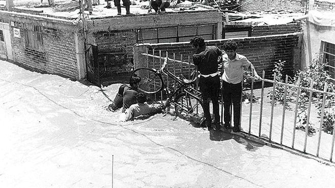 Photo of La colonia 18 de Agosto, recuerdo de la inundación de 1973