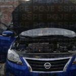 Aseguran en Pénjamo un automóvil presuntamente abandonado, con reporte de robo