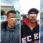 Atrapa policía municipal a 4 sujetos señalados de robo a negocio