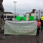 Comerciantes se manifiestan; piden destitución de director de Mercados