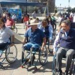 """Realizan """"Rodada para Personas con Discapacidad en Silla de Ruedas"""" en Irapuato"""