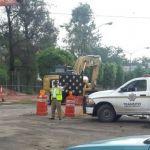 Refuerzan tránsitos vigilancia en zonas de obras