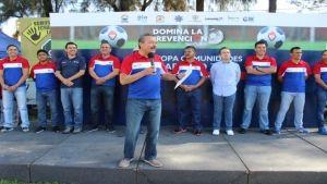 EX FUTBOLISTAS EN LA COPA COMUNIDADES