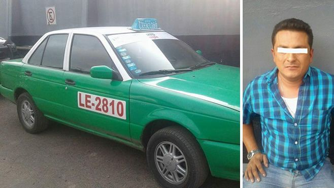 Photo of Manejaba taxi robado