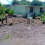 Reportan afecciones por lluvia en Abasolo