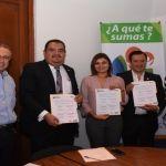 Firma convenio DIF y CANIRAC