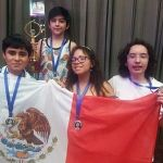 Gana alumno guanajuatense medalla de plata en la India, en matemáticas