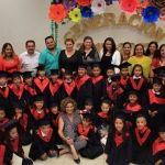 Preside alcaldesa clausura de preescolares DIF Pueblo Nuevo