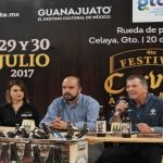 "Presentan ""4to. Festival de la Cerveza Artesanal Celaya 2017"""