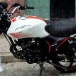 Aseguran en Pénjamo una motocicleta con reporte de robo